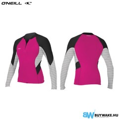 ONeill wetsuits Wms Bahia 1/0.5mm Front Zip Jacket Neoprene Női