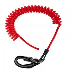 Jobe SUP LEASH COILED 10FT - Red Tartozékok